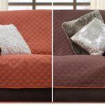Foto de protector impermeable para sillones. Reversible, composición de microfibra. Para proteger a los sillones del uso de las mascotas de la casa.